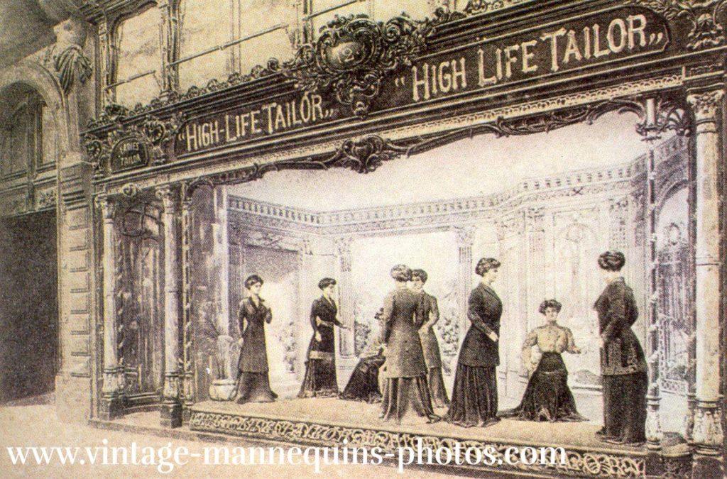Schaufenster 1900