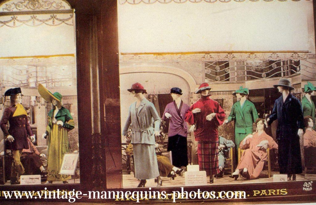 das gleiche Schaufenster 1920
